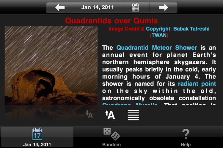 APODViewerLite - Astronomy Picture of the Day screenshot-3