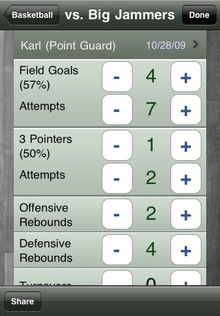 GameTrac - Stats Book & Score Keeper for Sports