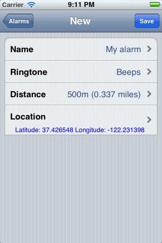 Geo Alarm Lite