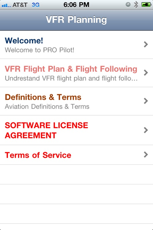 PRO Pilot VFR Planning screenshot-1