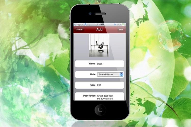 "Shopping Tracker ""Lite Edition"" screenshot-4"