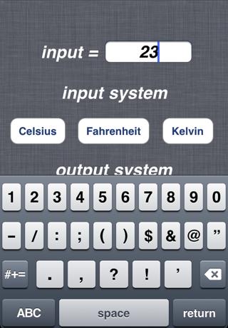 Celsius Kelvin Fahrenheit Converterのおすすめ画像2