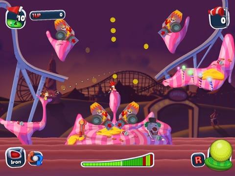 Скачать игру Worms Crazy Golf HD