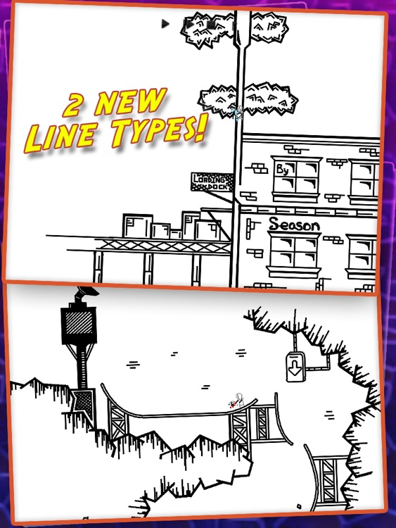 Line Rider HD screenshot-2