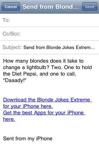 Blonde Jokes Extreme