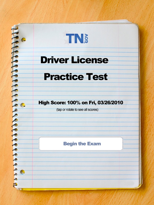 tennessee driver license practice test for ipad on the app store