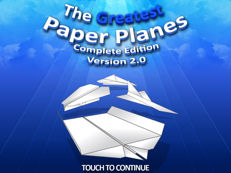 The Greatest Paper Planes HD screenshot-0