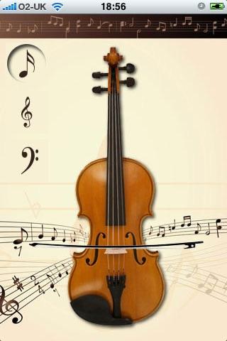 World's Smallest Violin