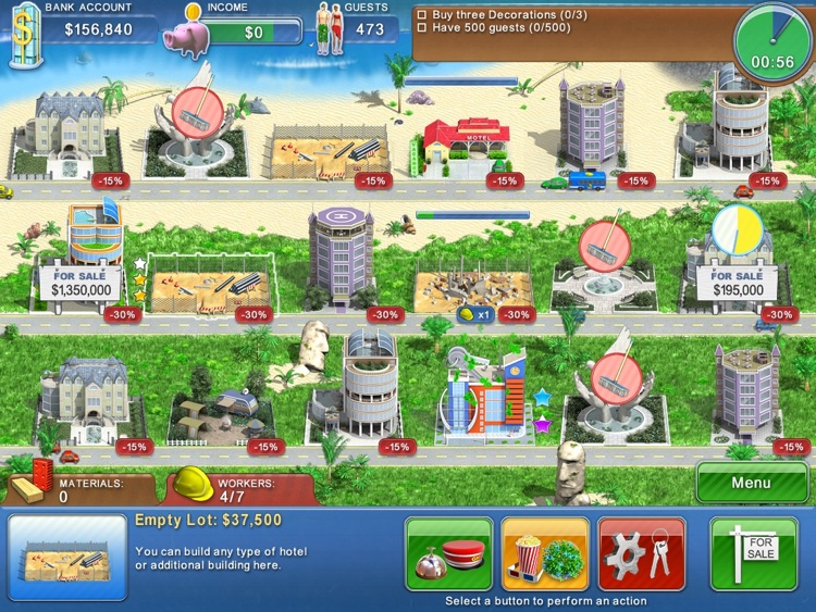 Hotel Mogul HD Lite screenshot-3