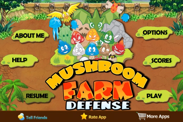 mushroom farm defense on the app store
