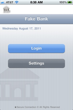 Fake Bank Free on the App Store
