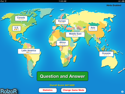 TapQuiz Maps World Edition-ipad-1