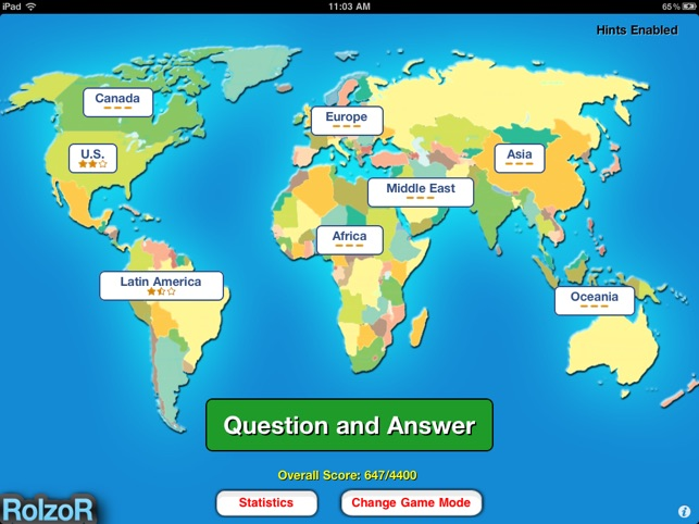 TapQuiz Maps World Edition im App Store
