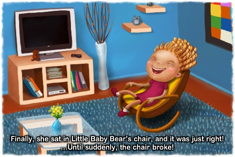 Goldilocks and the Three Bears - Lite screenshot-3