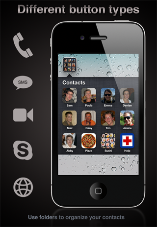 Face Buttons Free screenshot two