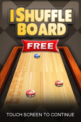 iShuffleBoard Free screenshot-0