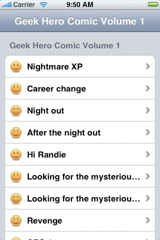 Vol 01: Geek Hero Comic