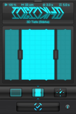 Holographium — 3D Light Painting Maschine Screenshot