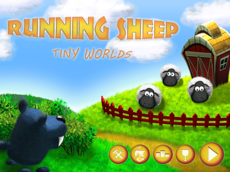 Running Sheep: Tiny Worlds HD Free