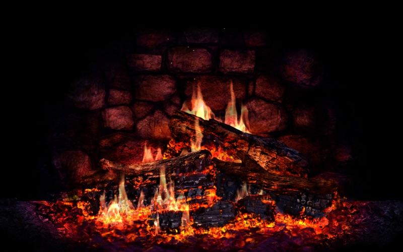 Fireplace 3D Lite Screenshot