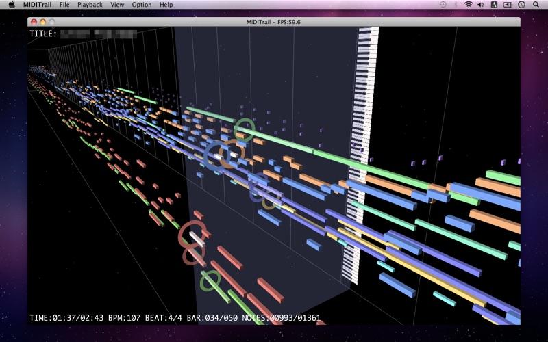 MIDITrail Screenshot