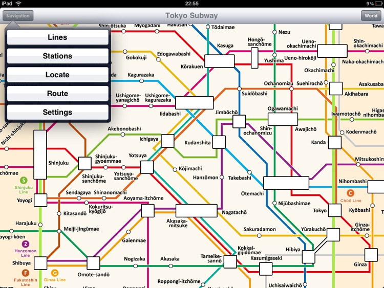 Tokyo Subway for iPad screenshot-1