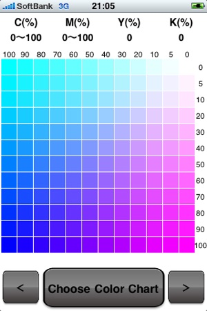 Color Chart On The App Store