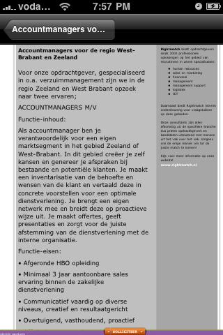 Screenshot of JobPatrol