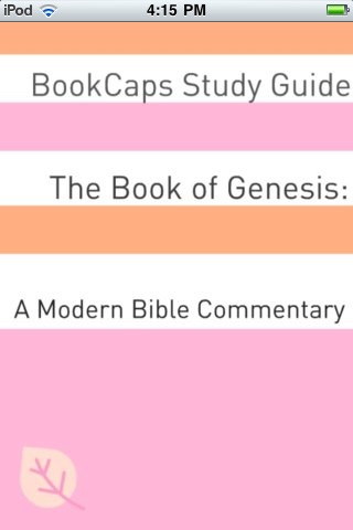 The Book of Genesis Bible Study App
