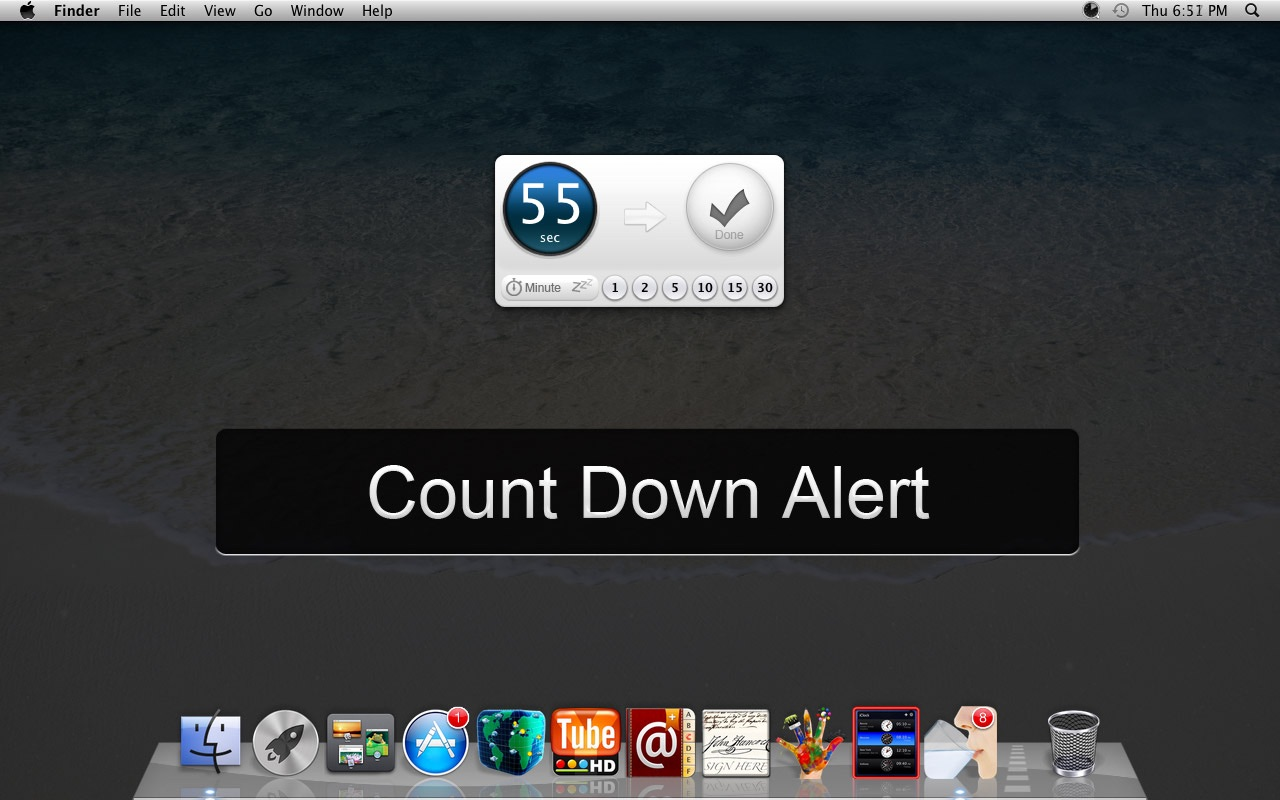 Break Timer on the MacAppStore