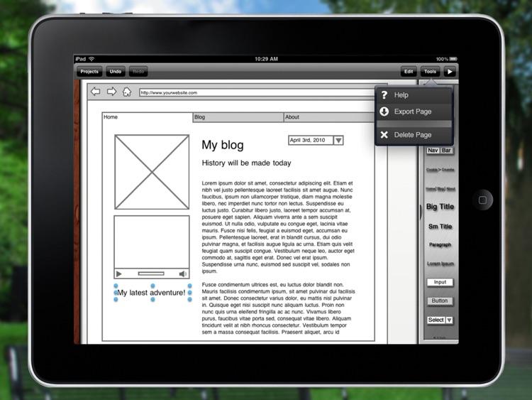 iMockups for iPad screenshot-3
