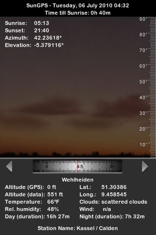 SunGPS screenshot-2