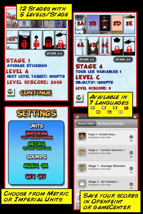 Bungee Stickmen screenshot-3