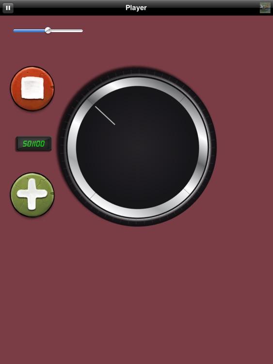 Big Volume Wheel for iPad (w/Mute)