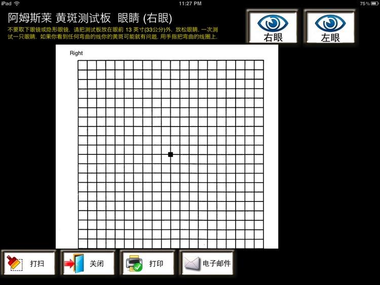 eyeTestsChinese 简易视力测试 screenshot-3