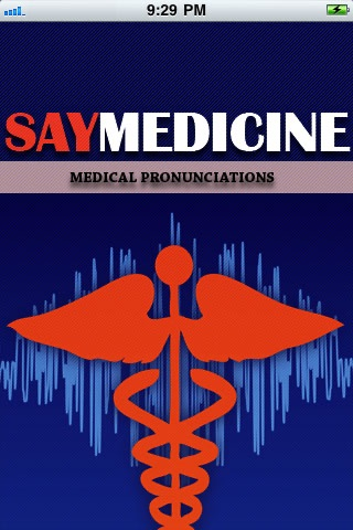SayMedicine Medical Pronunciation