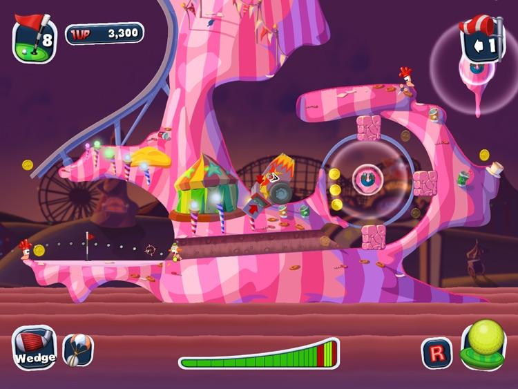 Worms Crazy Golf HD screenshot-4
