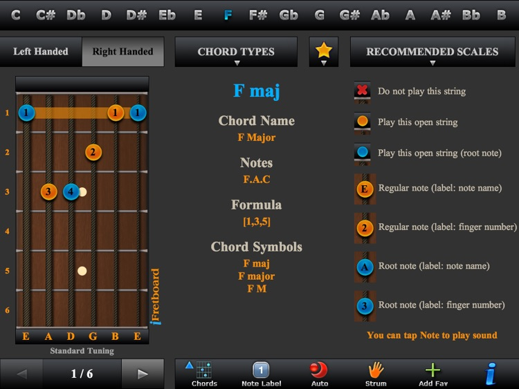 Guitar Chords, Triads & Quiz