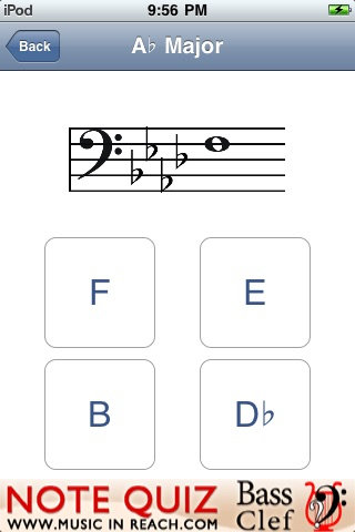 note quiz bass clef by notetutor