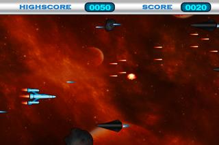 Space War Game HD Lite screenshot one