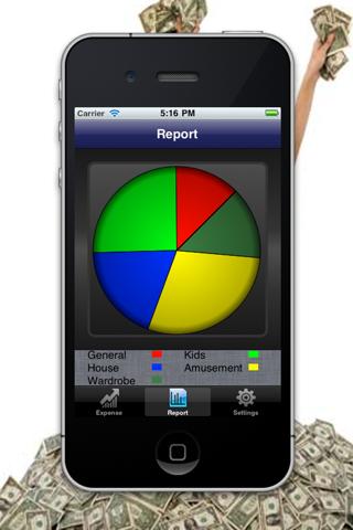 iExpenses Manager HD Lite screenshot one