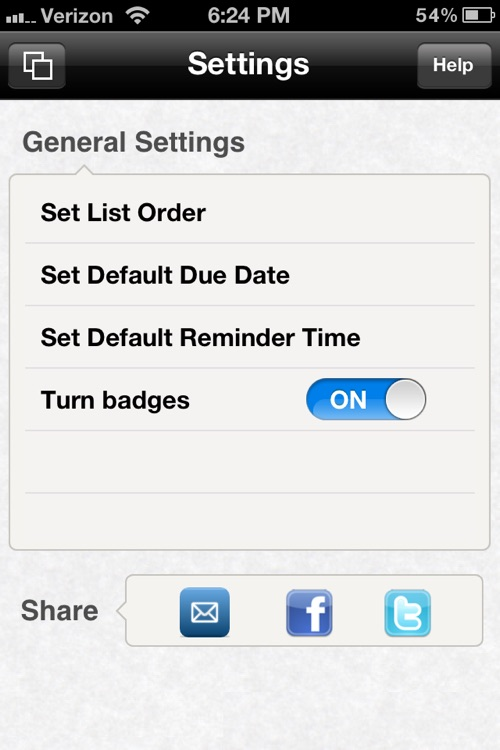 Minimalist To Do List screenshot-4