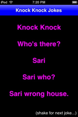 Knock Knock Jokes! screenshot-2