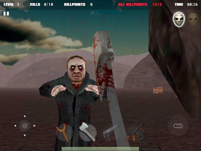 Jason vs Zombies Screenshot