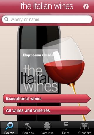 the Italian wines