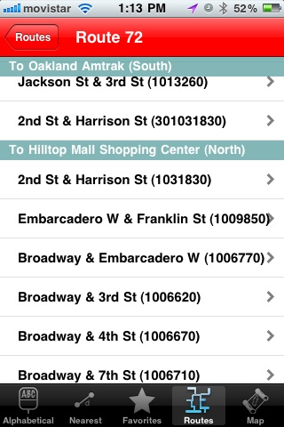 AC Transit Tracker screenshot-4