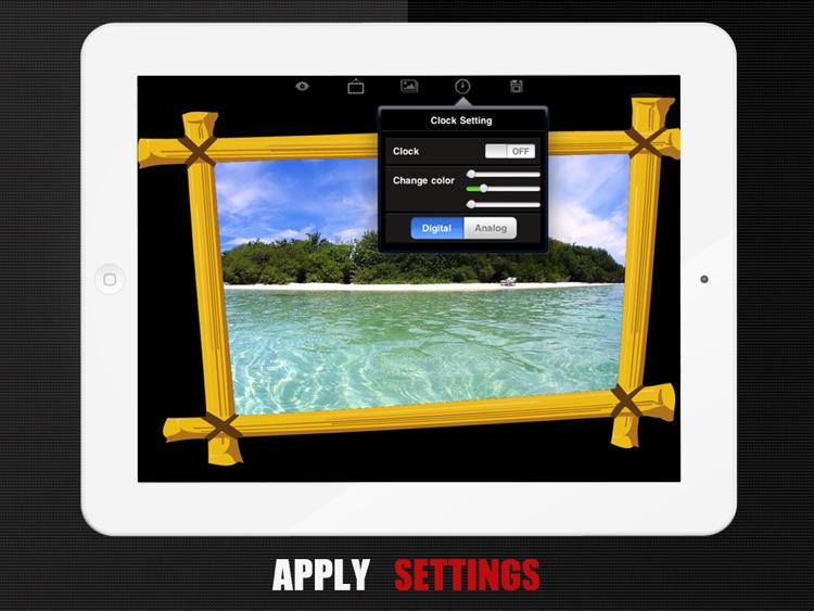 Photo Frame | Digital Album for iPad screenshot-4