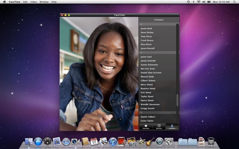 FaceTime скриншот программы 1