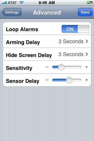 Phone Alarm LE screenshot-4