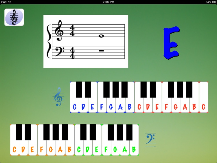 Treble Clef Kids Deluxe screenshot-1